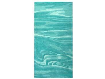 Tapis de salon vert deau Deep Water par Esprit Home