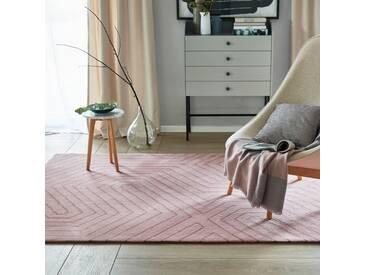 Tapis salon moderne Raban rose poudré par Esprit Home