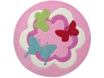Tapis Rond pour enfant Butterfly Party par Esprit Home