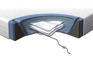 Kit pour lit à eau 160x200 cm - matelas à eau - cadre en mousse - housse - 2 x chauffages