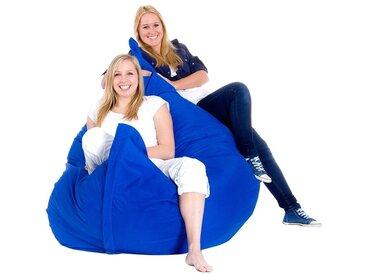 Pouf géant XXXL 180 x 230 cm bleu