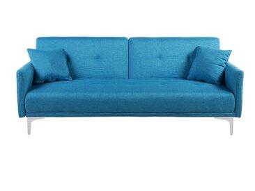 Canapé convertible - canapé-lit en tissu océan pacifique LUCAN