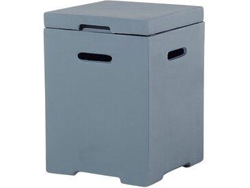 Boîte grise adapté pour une bouteille de gaz