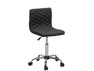 Chaise de bureau noire ORLANDO