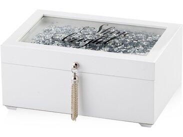Boîte à bijoux blanche MIREMONT