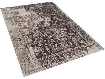 Tapis rectangulaire marron 140 x 200 cm ARGOS