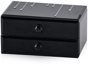 Boîte à bijoux noire ALLENC