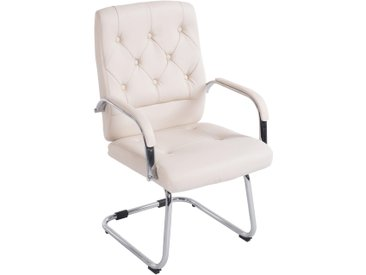 CLP Chaise cantilever Flemming, crème CLP  crème