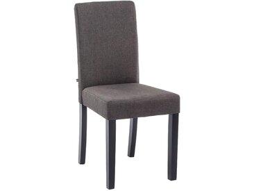 CLP Chaise Ina revêtement tissu, gris foncé CLP  gris foncé