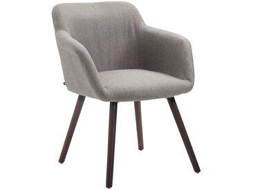 CLP Chaise de salle à manger Debbie tissu, gris CLP  gris