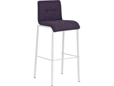 CLP Tabouret de bar Avola W78 revêtement tissu, violet CLP  violet