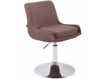 CLP Chaise Lounge CLUB Tissu, marron CLP  marron