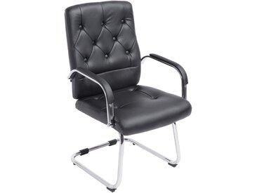 CLP Chaise cantilever Flemming, noir CLP  noir