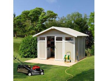 Abri de jardin Utility 7,5 GROSFILLEX + Kit d'ancrage