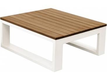 Table basse plateau bois Fermo Curve ZENDART OUTDOOR