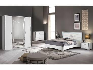 Loona - Chambre Complète 160x200cm avec Armoire