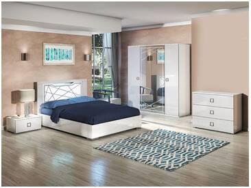 Rosabel - Chambre Complète 140x190cm avec Commode