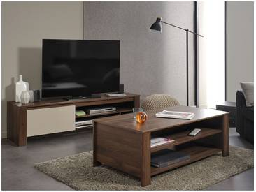 Alessio - Ensemble Table Basse + Meuble TV