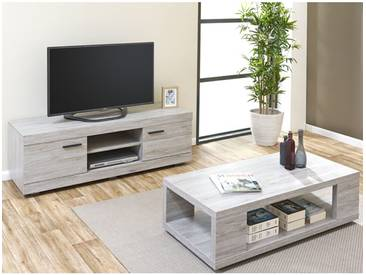 Tom - Ensemble Table Basse + Meuble TV