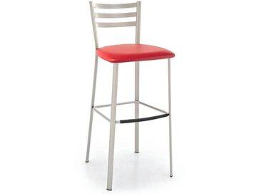 Tabouret de bar en métal avec assise rembourrée - Ace 1433