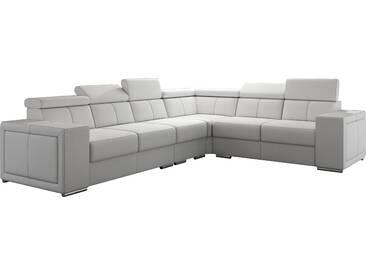 Canapé dangle réversible moderne en pvc coloris blanc