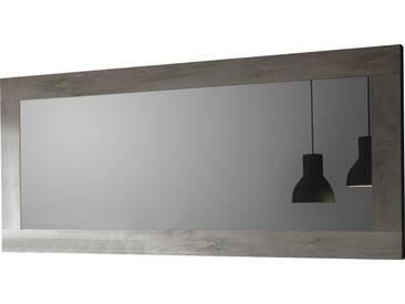 SOLDES - Miroir mural design rectangulaire coloris chêne gris clair