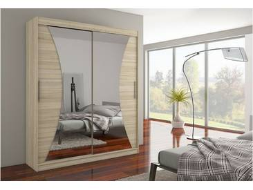 JUSTyou Charlotte Armoire Penderie Sonoma