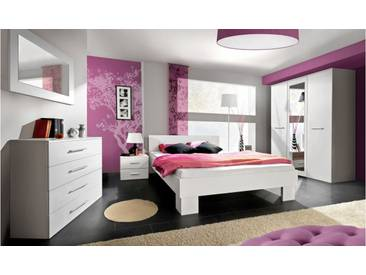 JUSTyou VICKA II 160 Meubles chambre a coucher Blanc