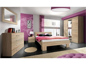 JUSTyou VICKA II 160 Meubles chambre a coucher Chene