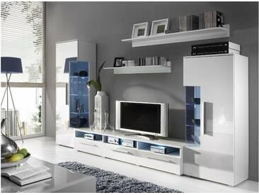 JUSTyou ROMO Ensemble TV mural Blanc
