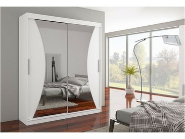JUSTyou Charlotte Armoire Penderie Blanc