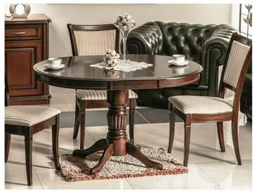 JUSTyou Margo Table à rallonge 75x90x90-125 cm