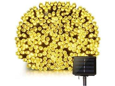LUMI JARDIN Guirlande lumineuse solaire Yogy Solar - Lumière blanc chaud solaire - 400 LED - 3300 cm
