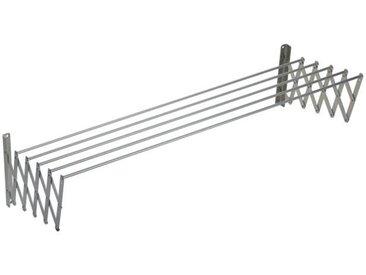 SAUVIC Séchoir à linge extensible en aluminium - 140 cm