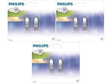 PHILIPS 6 Ampoules Eco G4