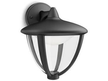 ROBIN-Applique dextérieur Descendante LED H23cm Noir Philips