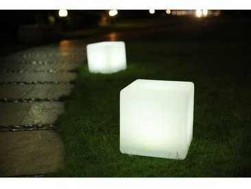 LUMISKY Cube Led sans fil télécommandable 40 cm - Multicolore