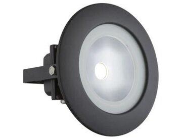 GLOBO LIGHTING Projecteur extérieur aluminium anthracite - Verre satiné