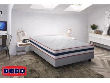 DODO Sommier tapissier en bois massif 140 x 190 cm - 14 lattes fixes - STIPA