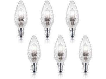 PHILIPS 6 Ampoules EcoHalo E14