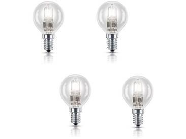 PHILIPS Lot de 4 ampoules Ecohalo E14 42 W équivalent à 55 W