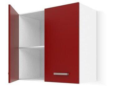 ULTRA Meuble haut de cuisine L 60 cm - Rouge mat