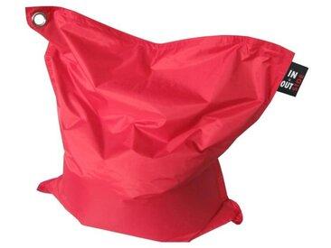 Pouf géant imperméable JAVA - 110x130 cm - Rouge