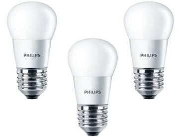 PHILIPS Lot de 3 ampoules LED E27 4 W équivalent à 25 W 2700 K
