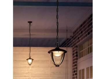 ROBIN-Suspension dextérieur LED H17,4cm Noir Philips