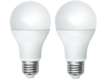 Lot de 2 Ampoules LED E27 10 W équivalent à 100 W blanc neutre