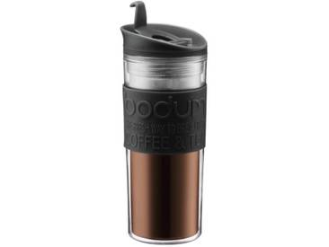 BODUM TRAVEL PRESS Mug de voyage 0,45 L noir