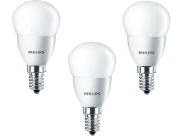 PHILIPS Lot de 3 ampoules LED E14 4 W équivalent à 25 W 2700 K