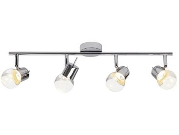 BRILLIANT Plafonnier a 4 lumières ajustable Lastra - Chrome