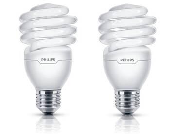 PHILIPS Lot de 2 ampoules fluo-compacte E27 23 W équivalent à 110 W